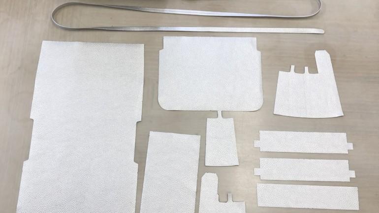 第2話)「90個の布地から手作業で創る小さな鞄」